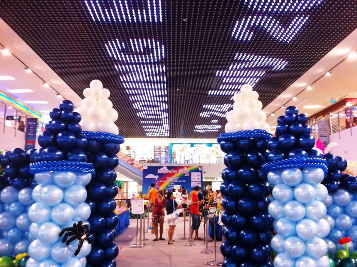 , Balloon Landscape, Singapore Balloon Decoration Services - Balloon Workshop and Balloon Sculpting