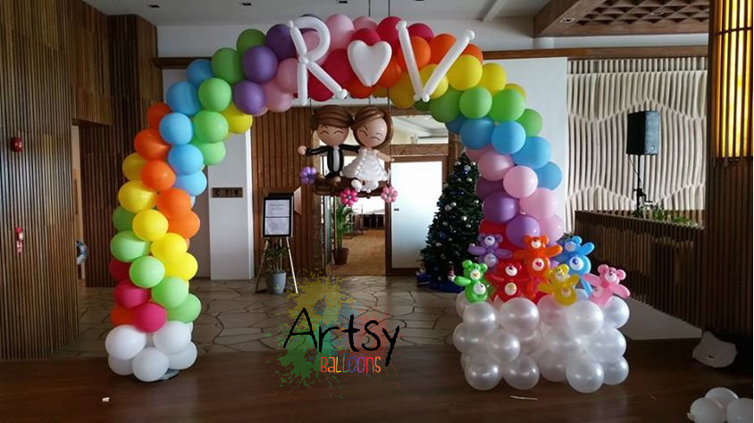, Wedding Decoration Package, Singapore Balloon Decoration Services - Balloon Workshop and Balloon Sculpting