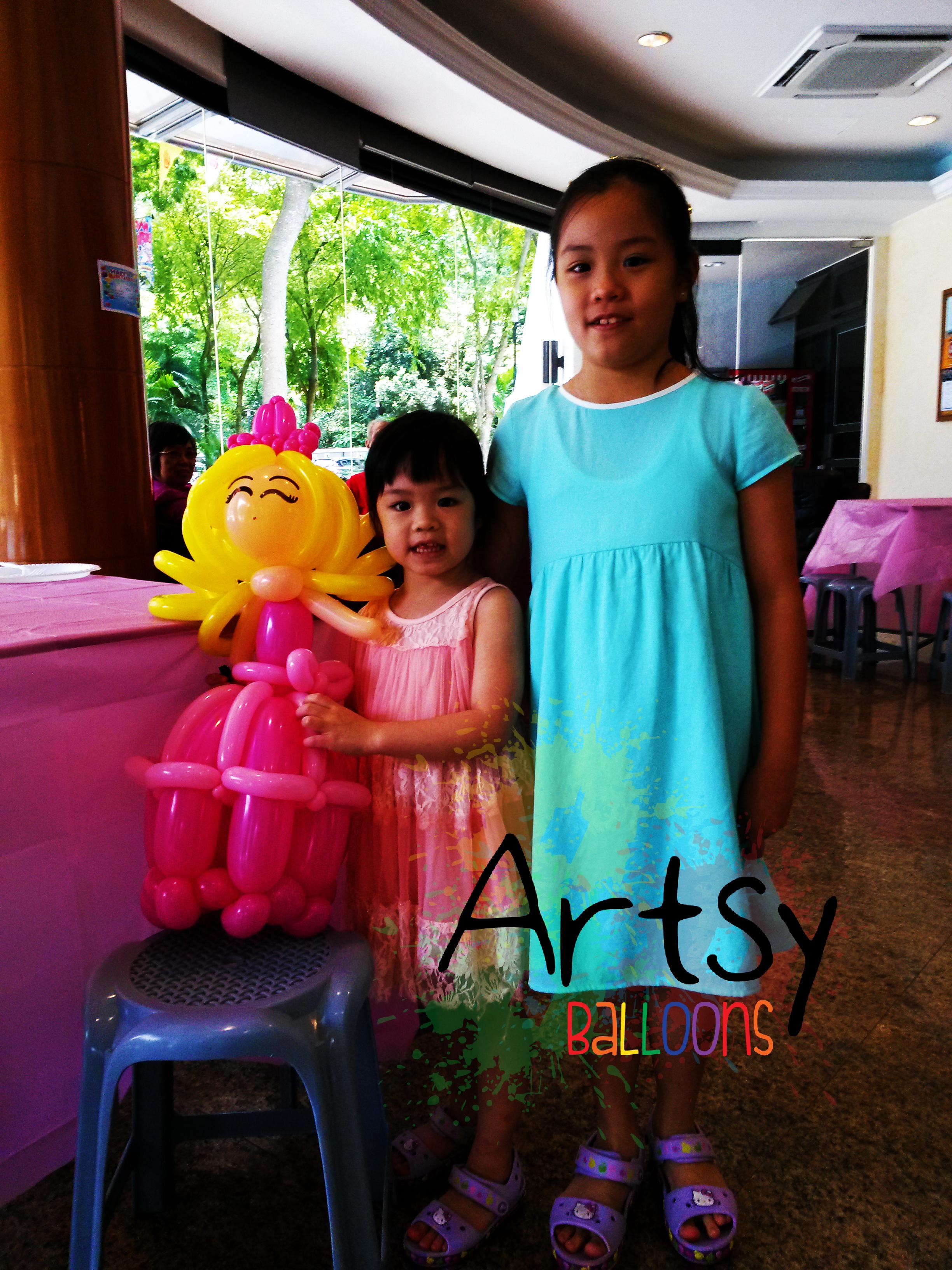 , Balloon Sculptures, Singapore Balloon Decoration Services - Balloon Workshop and Balloon Sculpting