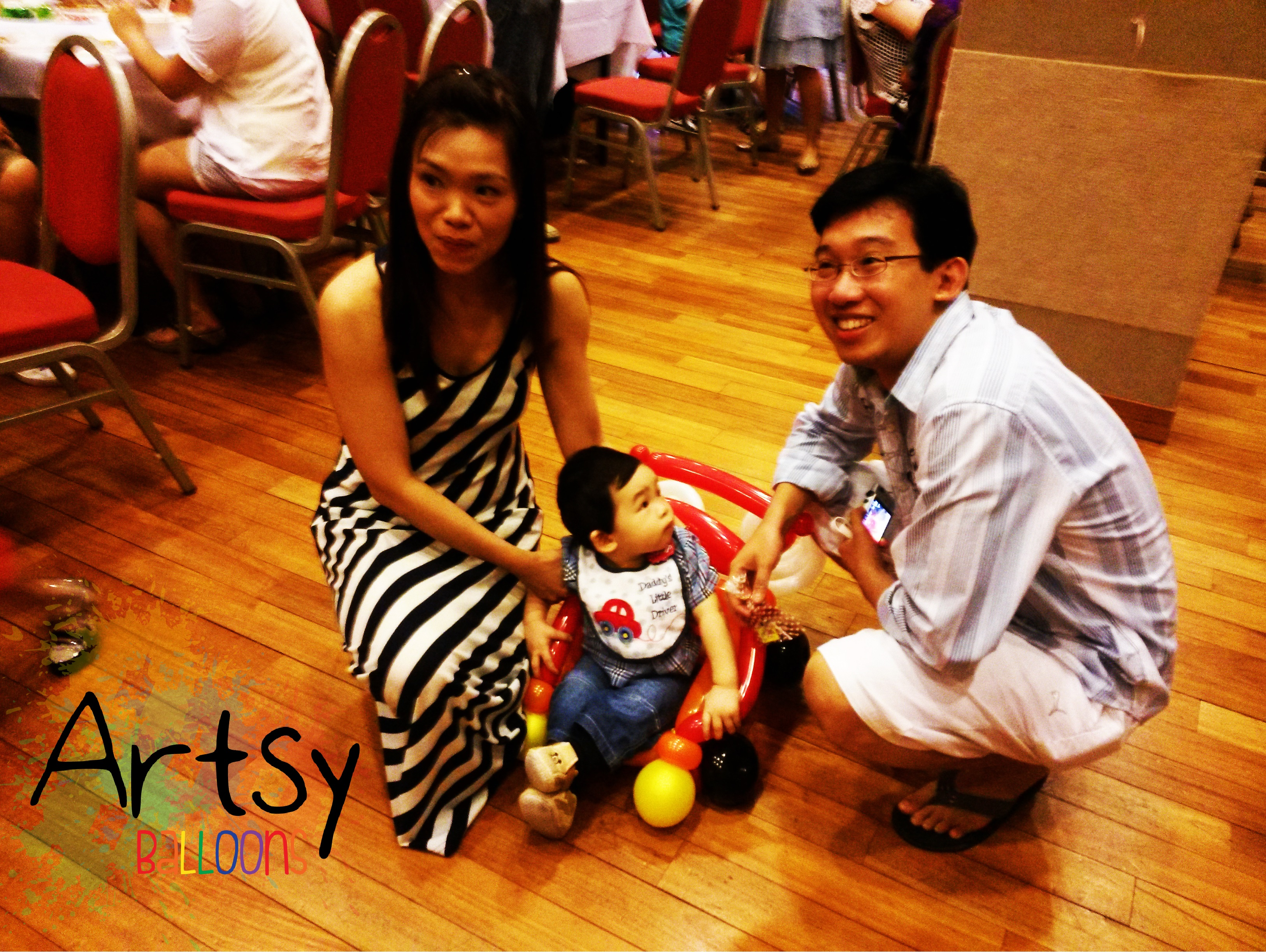 , Birthday parties and more birthday parties!, Singapore Balloon Decoration Services - Balloon Workshop and Balloon Sculpting