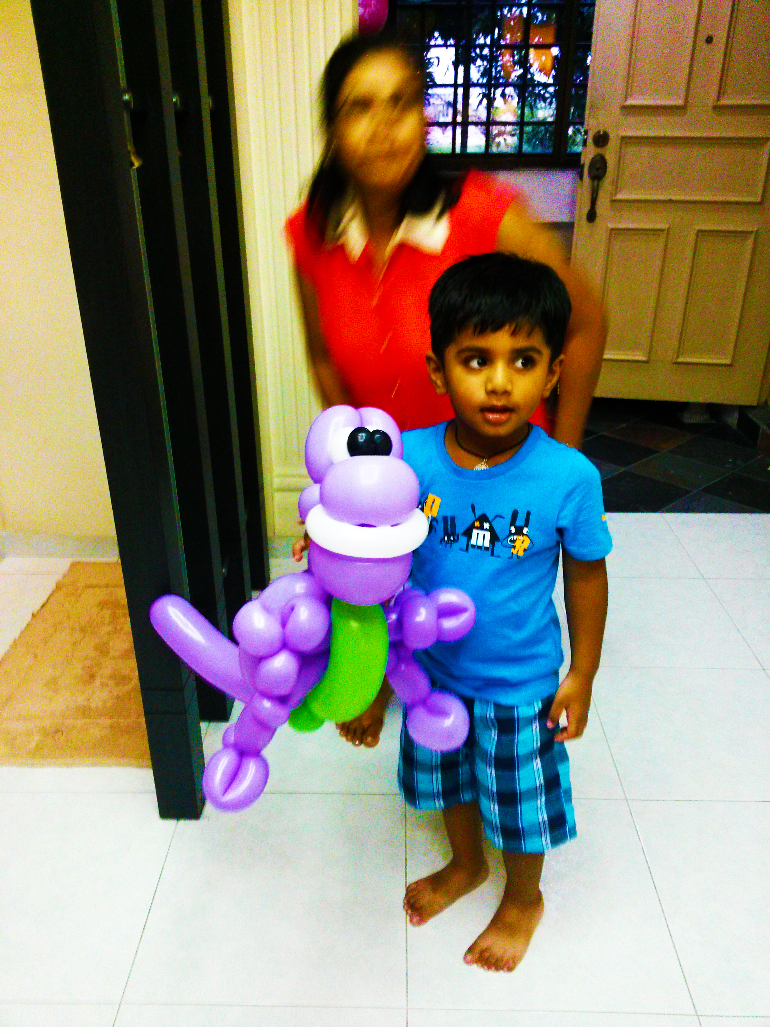 , My man in balloon show! and some of my other events this few days., Singapore Balloon Decoration Services - Balloon Workshop and Balloon Sculpting