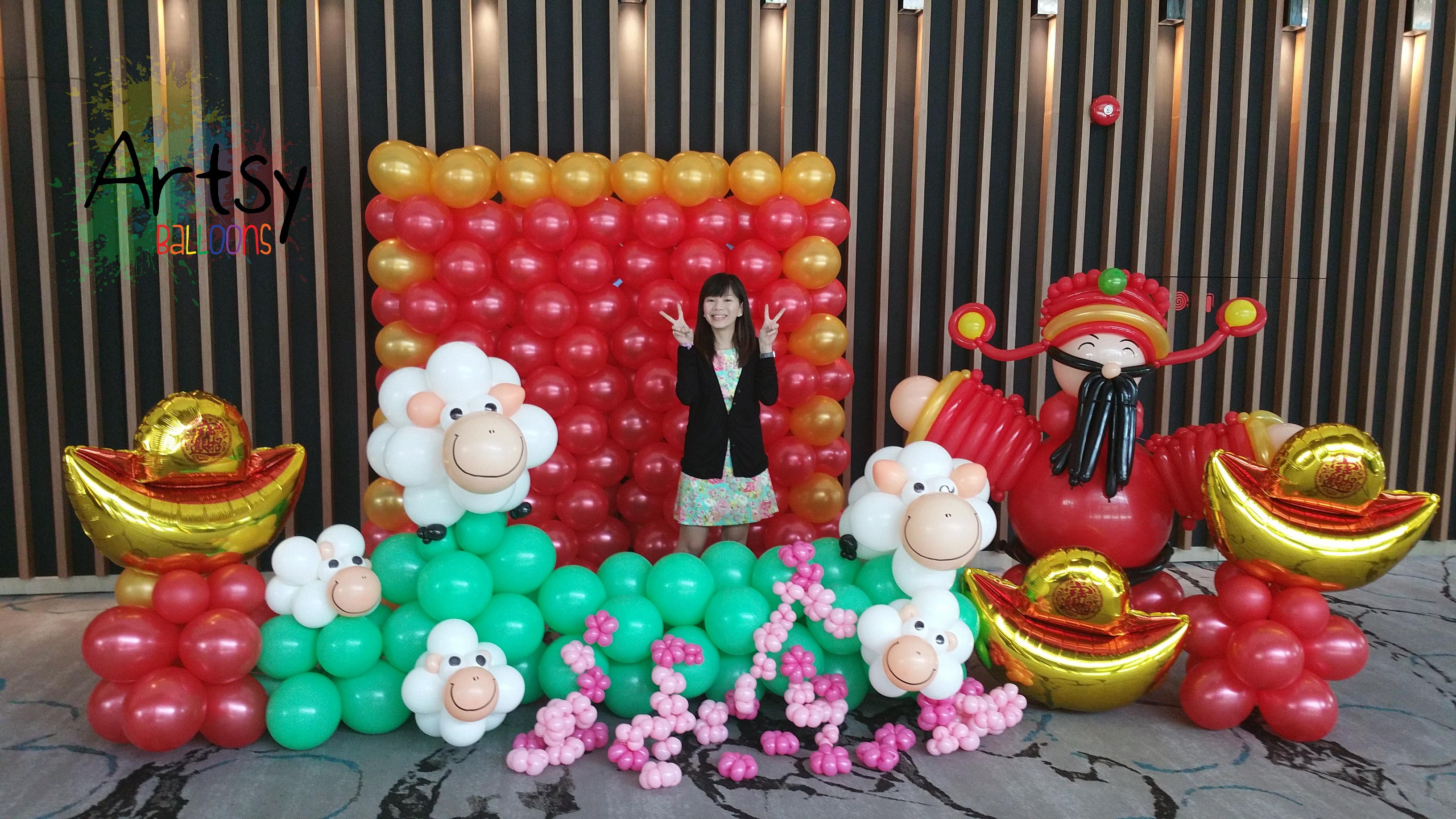 , Singapore Event Planner (Corporate), Singapore Balloon Decoration Services - Balloon Workshop and Balloon Sculpting