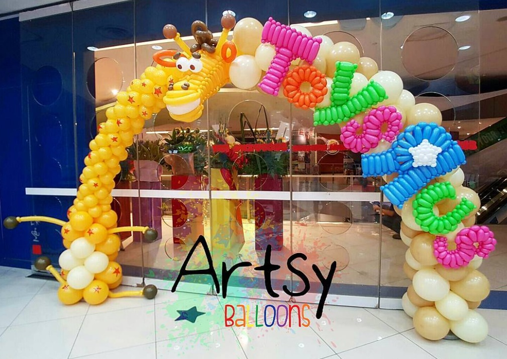, Retail Shop Packages, Singapore Balloon Decoration Services - Balloon Workshop and Balloon Sculpting