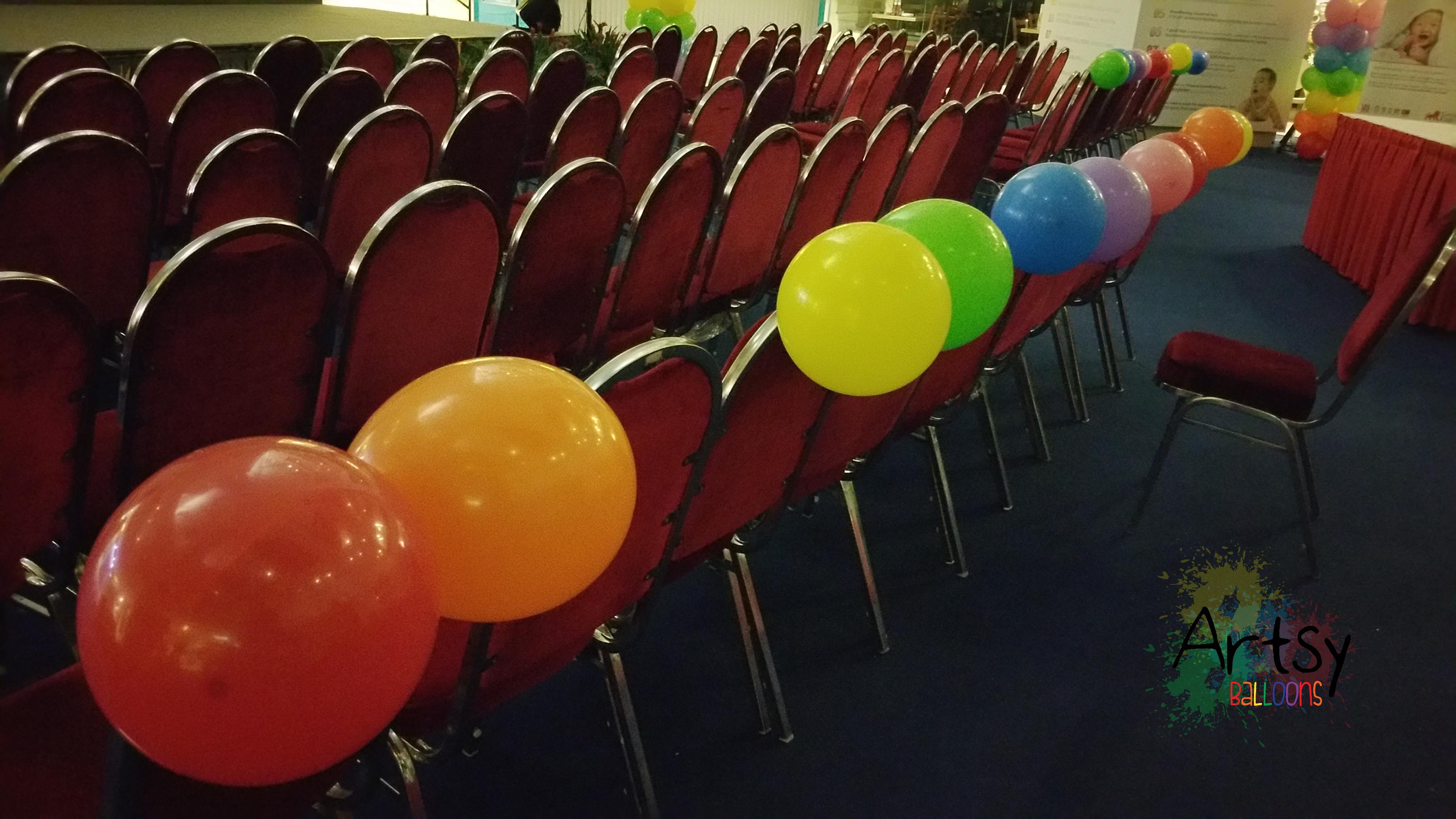 , Fringe balloon decorations, Singapore Balloon Decoration Services - Balloon Workshop and Balloon Sculpting