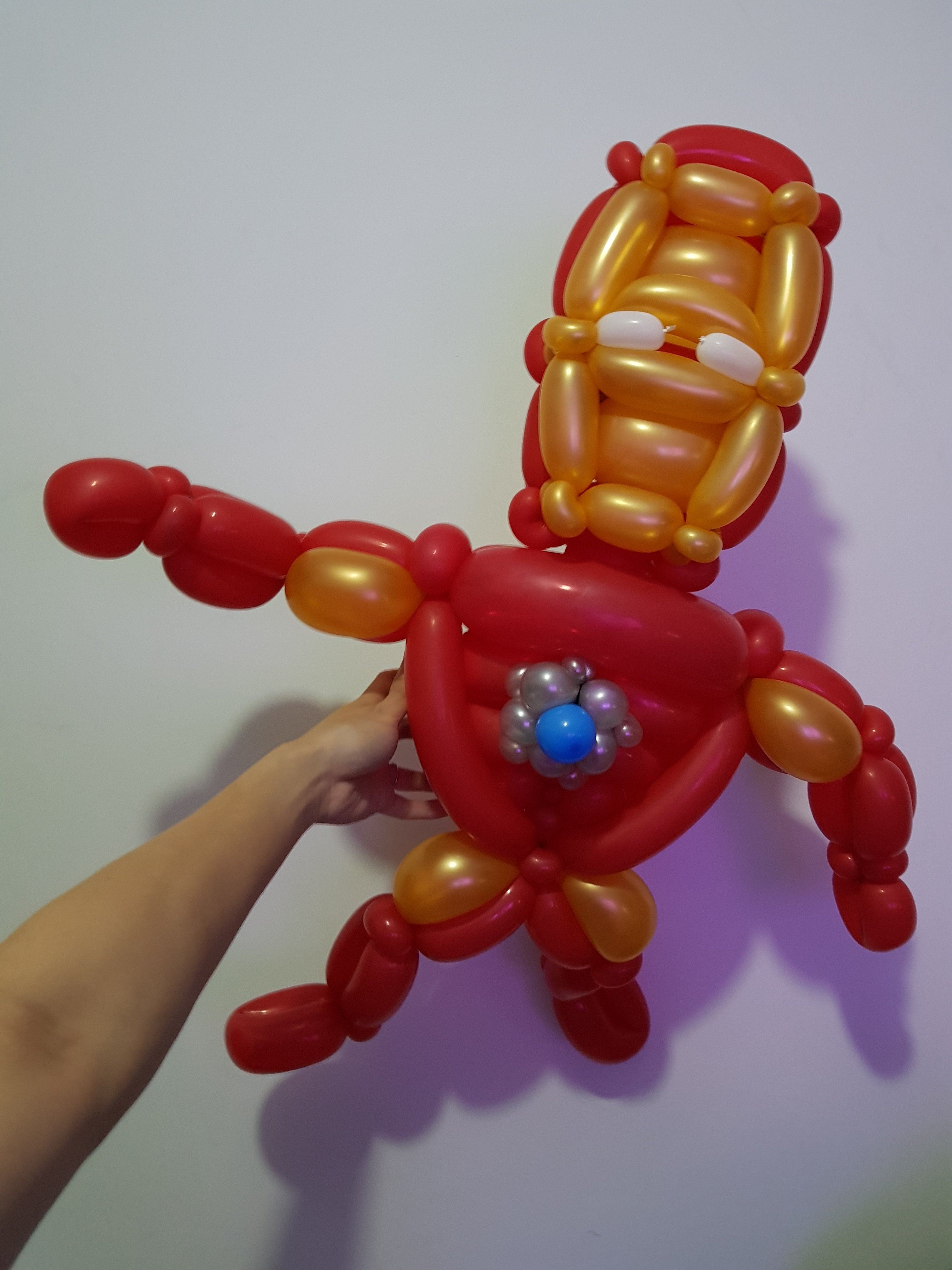 , Marvel & DC comic superheroes!, Singapore Balloon Decoration Services - Balloon Workshop and Balloon Sculpting