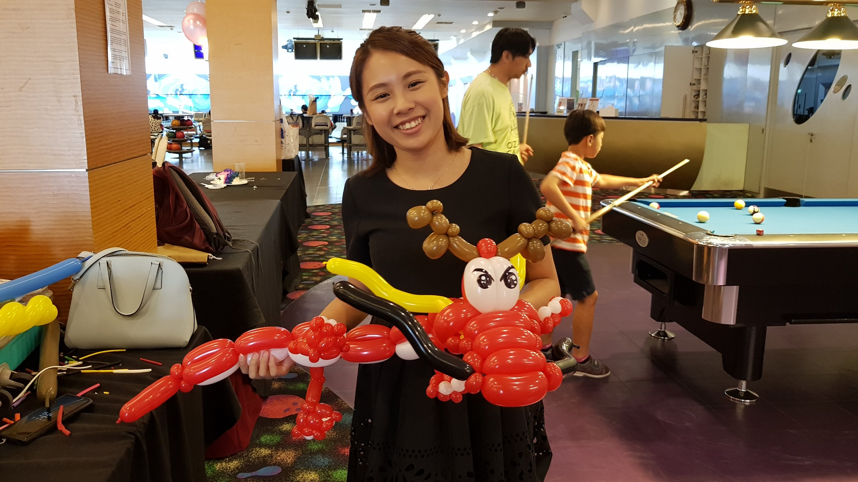 , Chinese New Year balloon sculpting, Singapore Balloon Decoration Services - Balloon Workshop and Balloon Sculpting