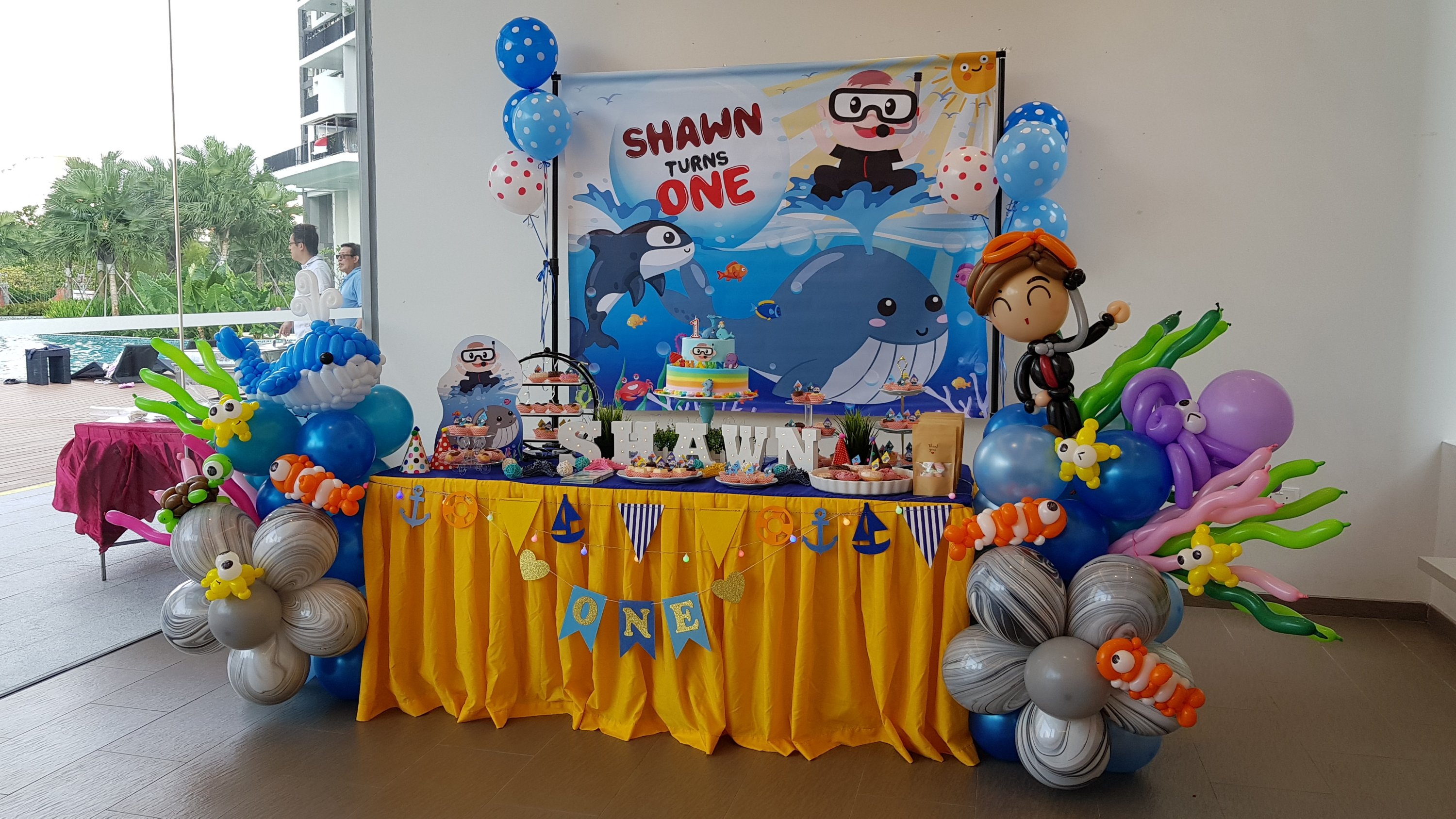 , Dessert table Singapore, Singapore Balloon Decoration Services - Balloon Workshop and Balloon Sculpting