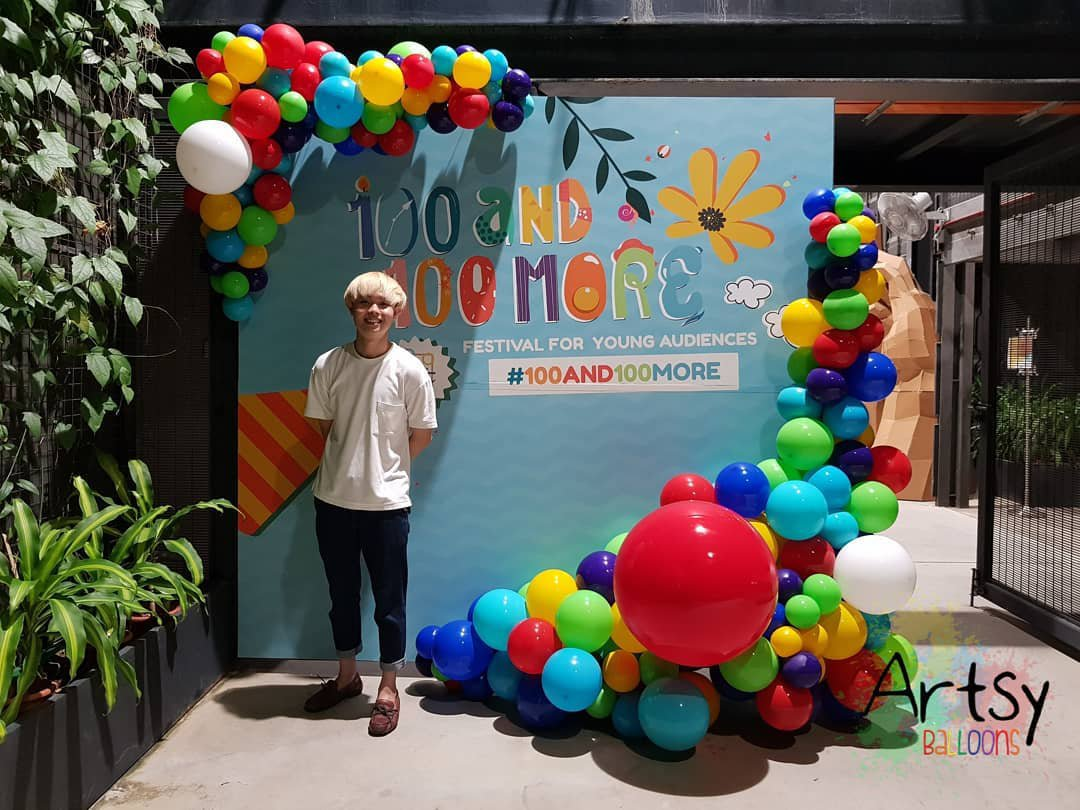 , Organic balloon decorations!, Singapore Balloon Decoration Services - Balloon Workshop and Balloon Sculpting