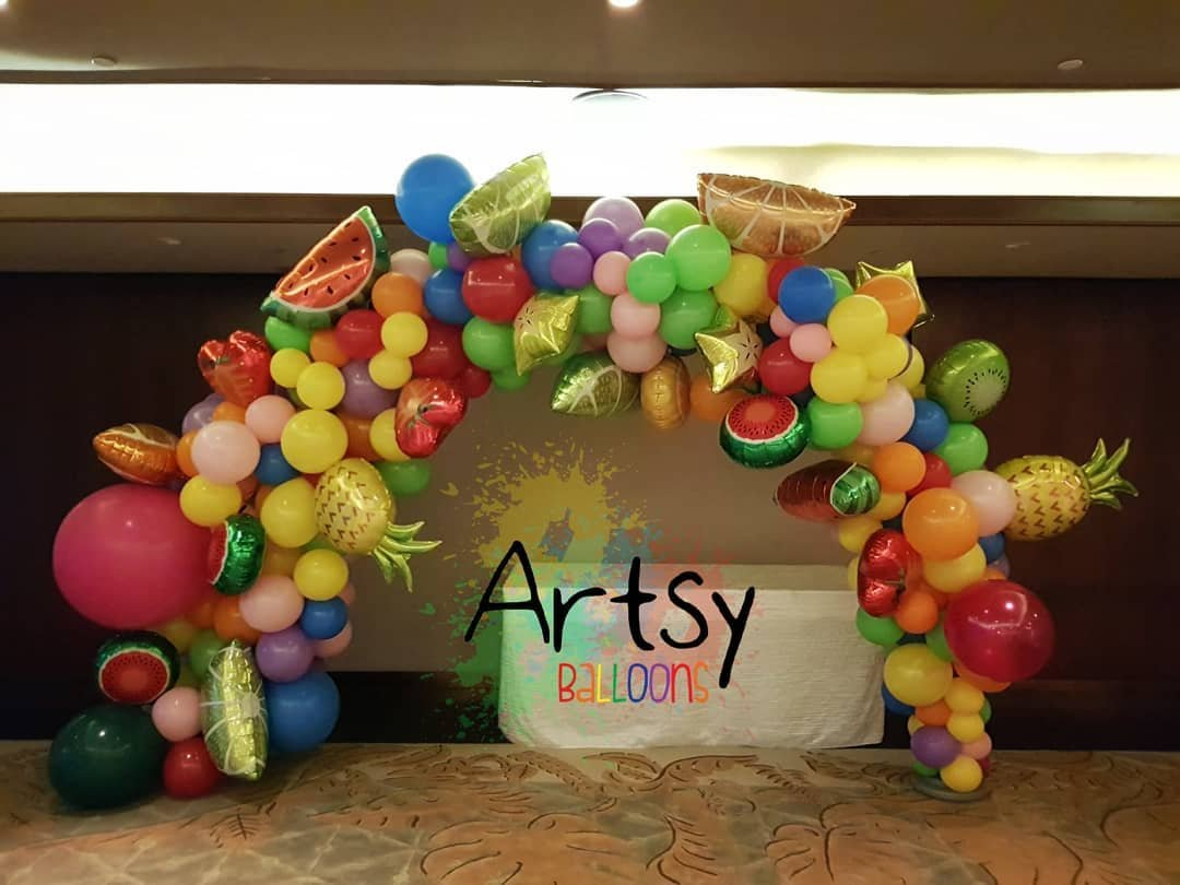 , Organic Balloon Decorations, Singapore Balloon Decoration Services - Balloon Workshop and Balloon Sculpting
