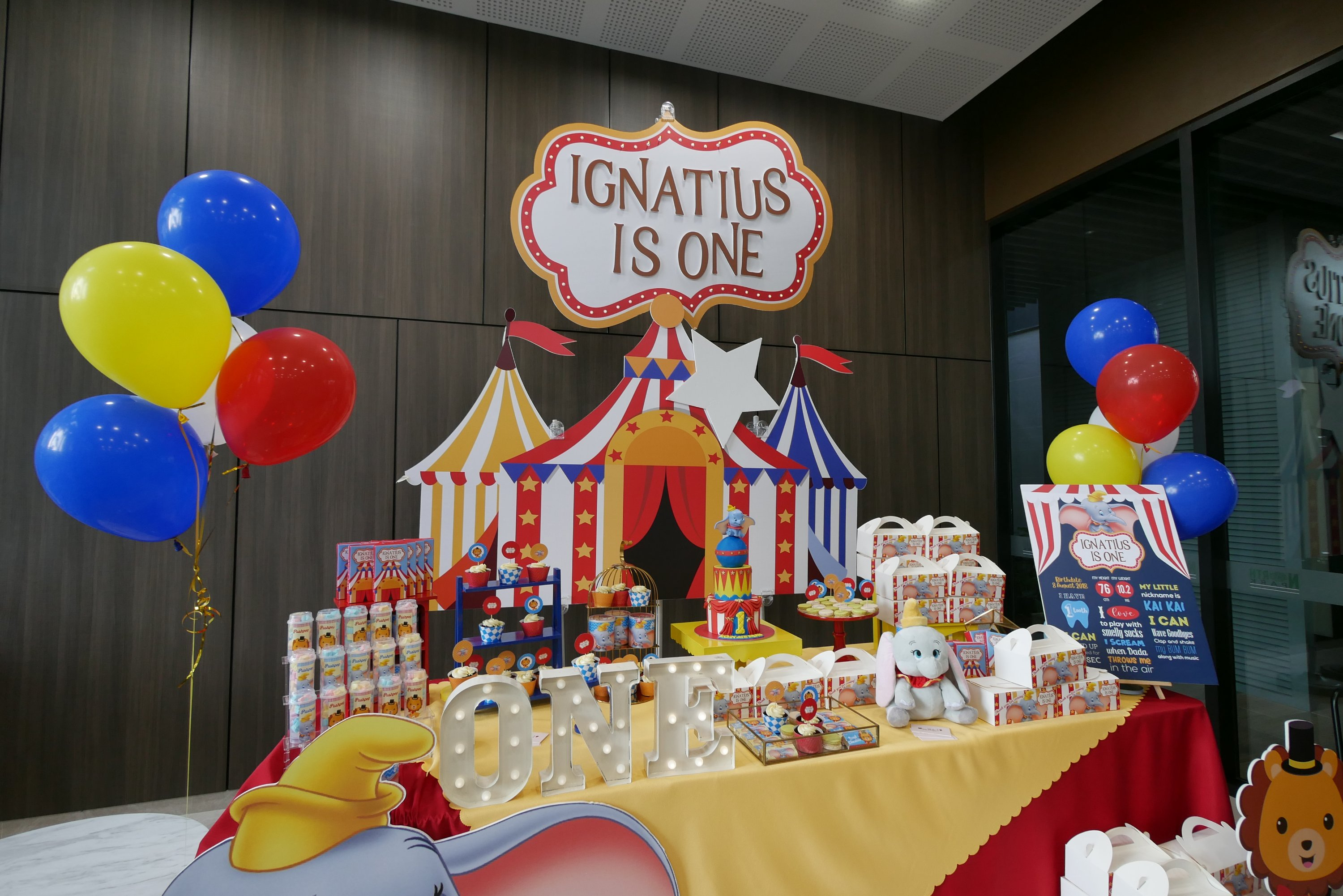 , Customised Dessert Table Decorations, Singapore Balloon Decoration Services - Balloon Workshop and Balloon Sculpting